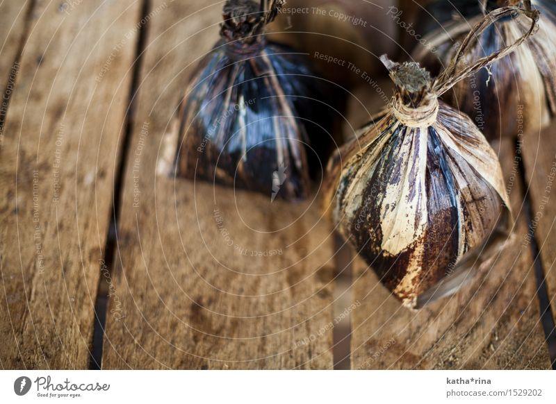 Kaffeepäckchen . Natur.Pur Blatt Verpackung Holz natürlich braun Kaffeebohnen Bananenblatt Holztisch Farbfoto Gedeckte Farben Außenaufnahme Menschenleer