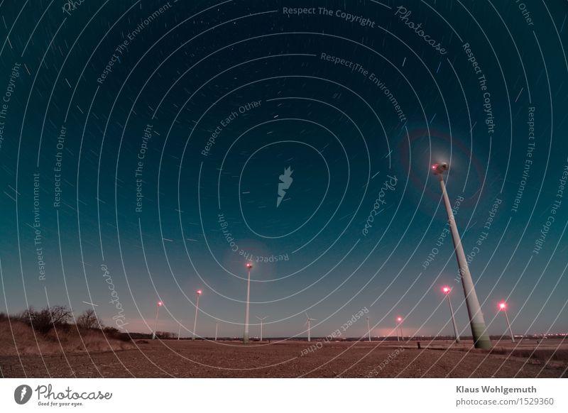Stadtrandlage Himmel blau rot Einsamkeit Winter Frühling braun rosa Horizont Feld Energiewirtschaft Stern Schönes Wetter Turm Unendlichkeit Weltall
