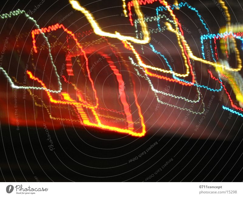 Impressionen der Nacht Licht Langzeitbelichtung Reaktionen u. Effekte