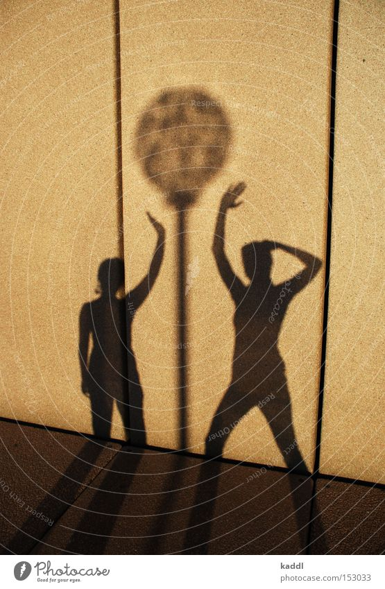 Schattentanz Frau Mensch Lampe Wand Tanzen Sydney Licht