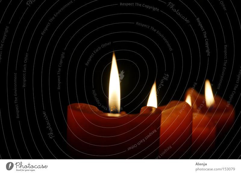 Kerzenlicht Weihnachten & Advent dunkel Erholung Denken Stimmung Kerze Romantik 4