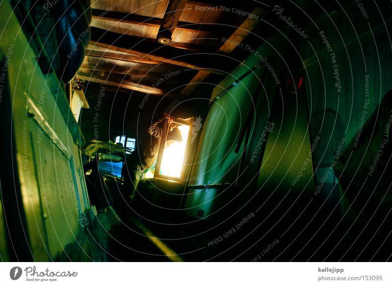 messi Mensch Mann Fenster Tür Neugier entdecken Schrank forschen Wissenschaftler Kammer