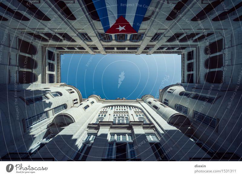 Museo de la Revolución Ferien & Urlaub & Reisen Stadt Ferne Fenster Wand Architektur Gebäude Mauer Fassade Tourismus Bauwerk Wolkenloser Himmel Hauptstadt