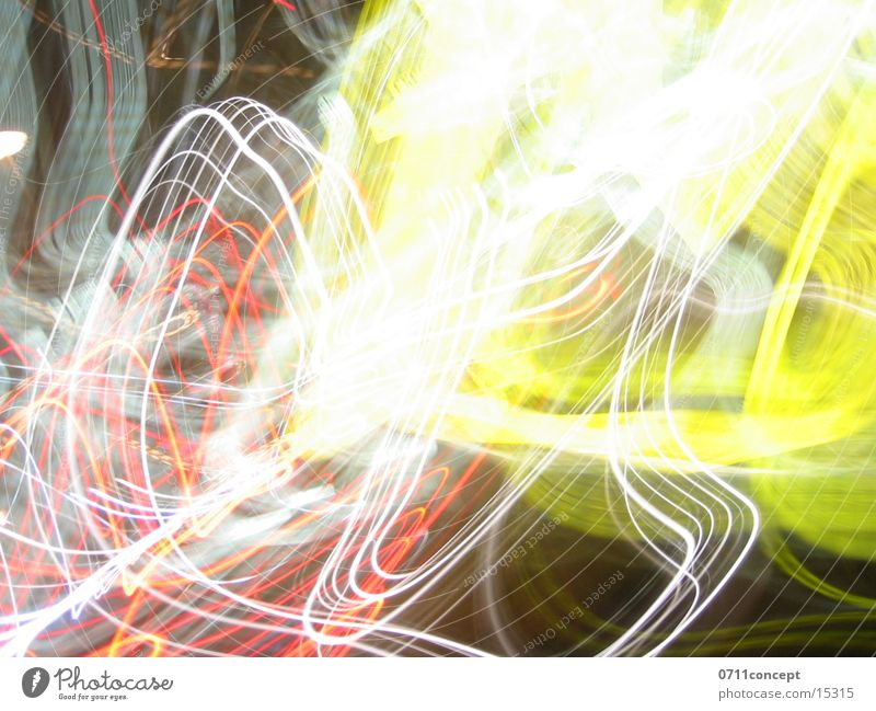 Yellow Crash gelb Stil Beleuchtung Reaktionen u. Effekte
