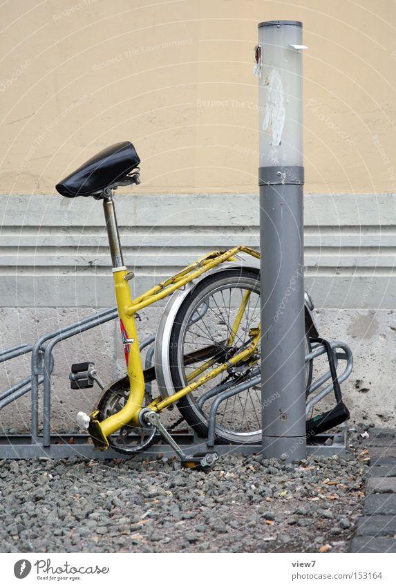 Hier! Stadt Freude Lampe Wege & Pfade Fahrrad Verkehr Sicherheit Hinterteil Schloss verloren Krimineller Dieb sinnlos Vorderseite entwenden Klapprad