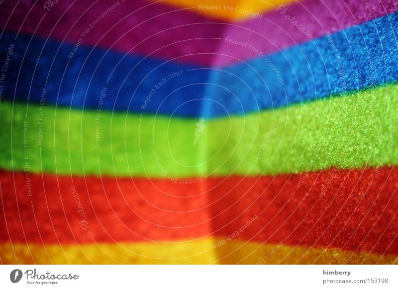 rainbow corner Farbe Farbstoff Mode Hintergrundbild Design Bekleidung Dekoration & Verzierung Streifen Stoff Hut Material Regenbogen Hippie Filz