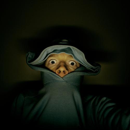 ice age Mann Mensch geben Müdigkeit Tier Zeche aufwachen Alkoholisiert Überraschung lustig Maske Ohr Schneelandschaft Angst Panik komik