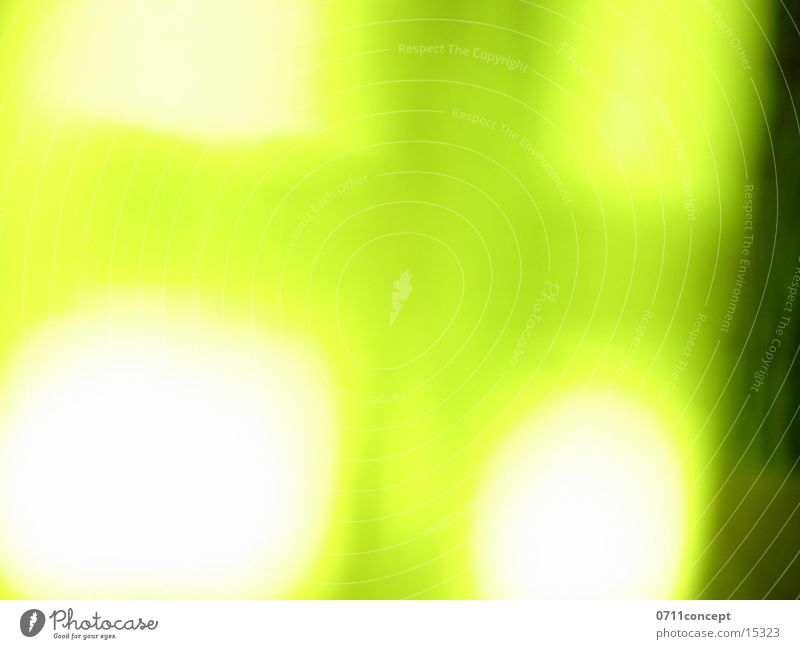 Flaschenlicht Licht Langzeitbelichtung grün Lampe diffus grell Stil Hintergrundbild gelb shape hell on