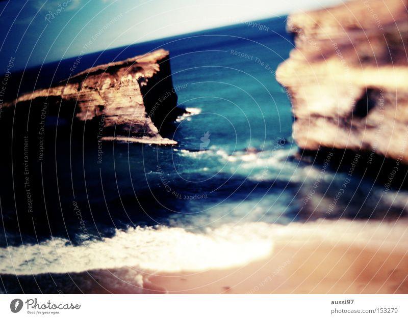 GOR Strand Küste Verbindung Australien Klippe Great Ocean Road