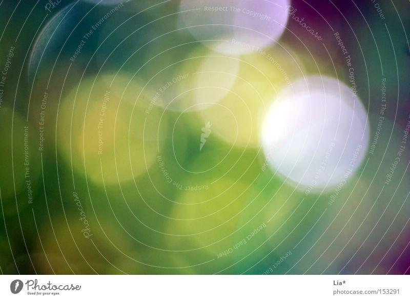 Traumwelt träumen Farbe Lebensfreude Leichtigkeit Fleck Hintergrundbild Lichtstrahl blenden Blendenfleck Alkoholisiert Linse Rauschmittel Farbfoto Experiment