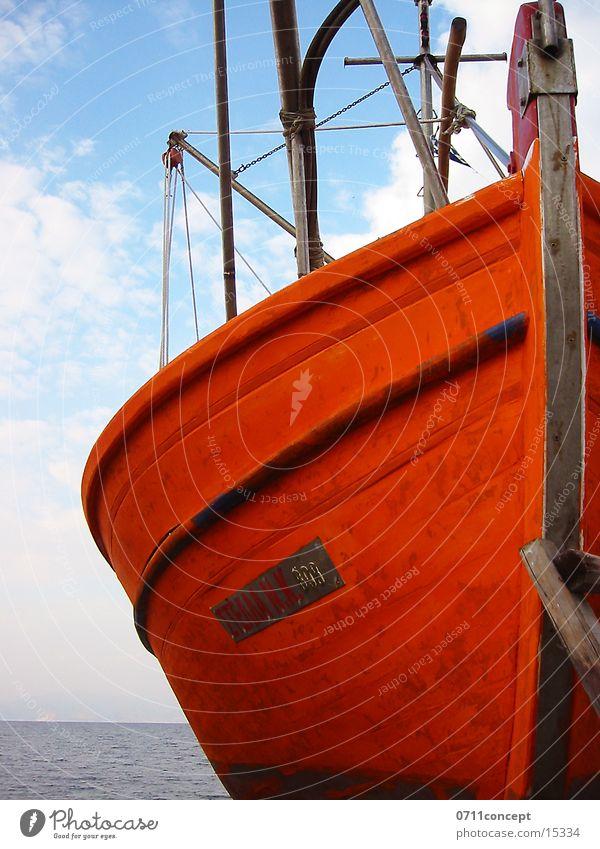 Fischkutter Meer Ferien & Urlaub & Reisen Wasserfahrzeug Romantik Schifffahrt Mallorca Fischereiwirtschaft Single Fischerboot Schiffsrumpf