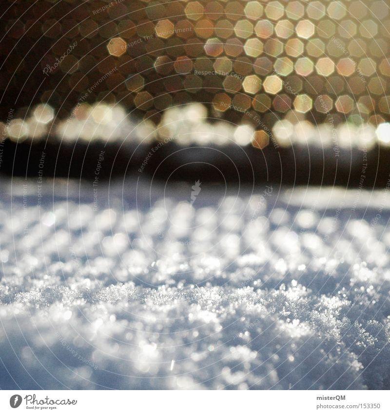 Beautiful World - Winterspaziergang weiß schön Sonne Winter kalt Schnee Denken Stimmung Verkehrswege Sonnenstrahlen Schattenspiel Januar Reflektor Minusgrade