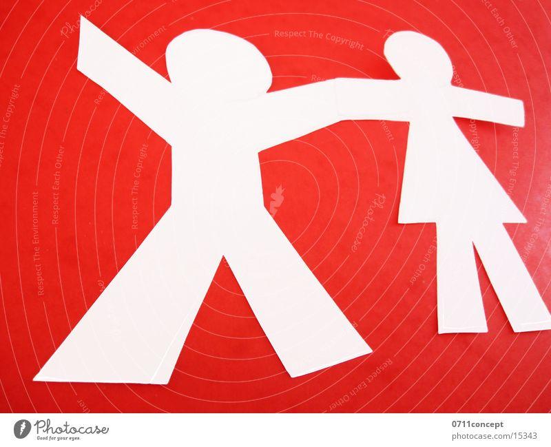 People Holding Hands Frau Kind Mann weiß rot Mädchen Liebe Leben Spielen Junge Glück Freundschaft Zusammensein Kindheit Zufriedenheit Kraft