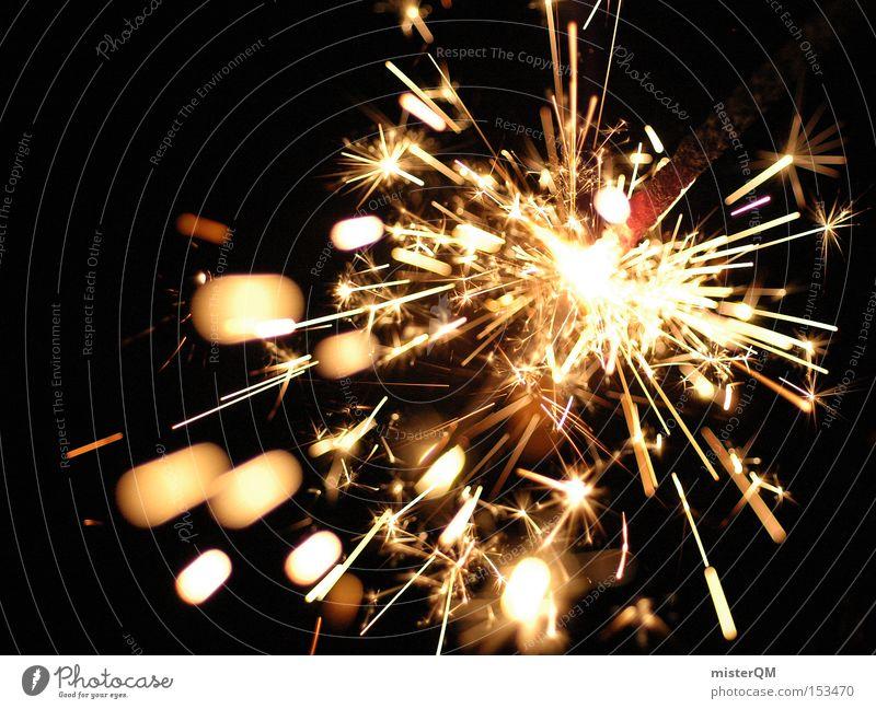 Silvesterparty - Der Leise-Böller. Freude Leben Party Stimmung glänzend verrückt gefährlich Ende Silvester u. Neujahr Mangel Mitternacht selten Sprengstoff