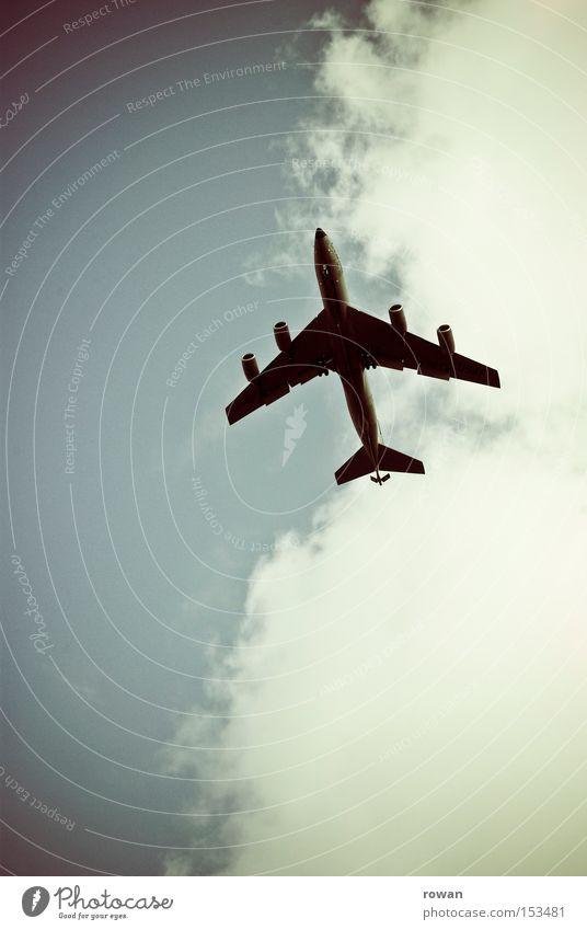fliegen Ferien & Urlaub & Reisen Flugzeug Luftverkehr Abheben