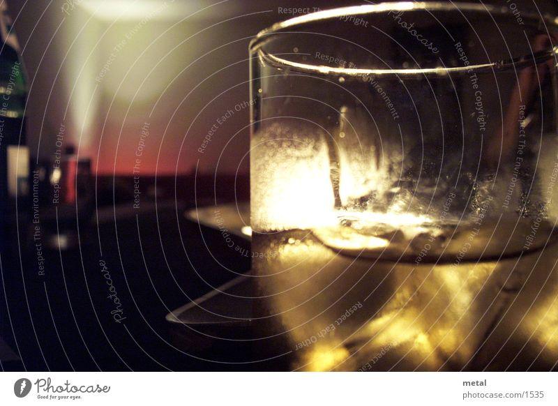 D´Oro Glas Abenddämmerung Alkohol Makroaufnahme Getränk Warme Farbe