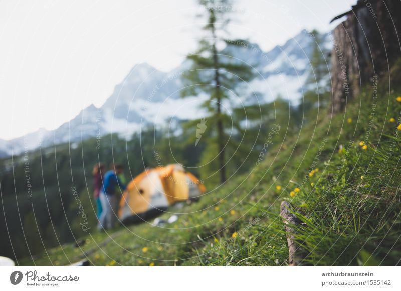 Wandern im Dachstein Gebirge Gesundheit sportlich Fitness Freizeit & Hobby Ferien & Urlaub & Reisen Tourismus Ausflug Freiheit Berge u. Gebirge wandern Klettern