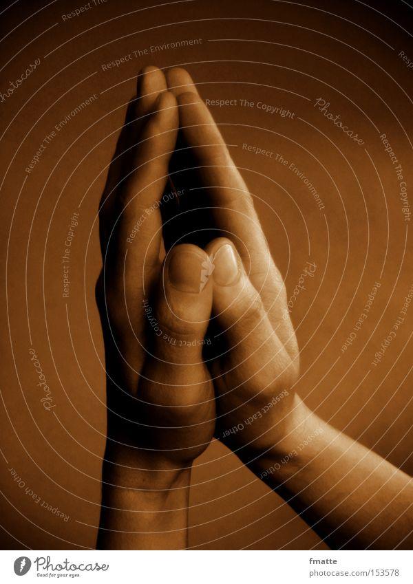 betende Hände Hand Religion & Glaube Vertrauen Gebet Gott Christentum Bibel