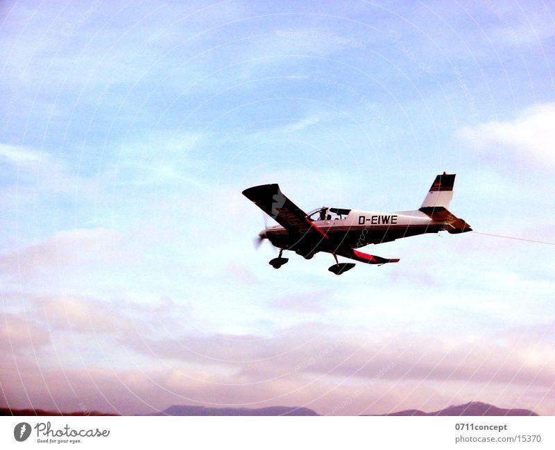 Landung Himmel Flugzeug Beginn Luftverkehr Flugzeuglandung Gleitflug