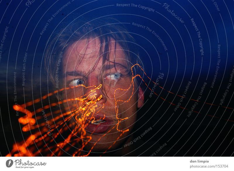 blindgänger Mensch Gesicht Digitalfotografie Waffe Blindgänger