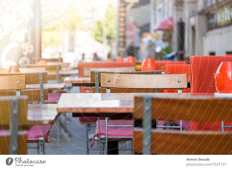 Berliner Cafe - Mehringdamm Frühstück Kaffeetrinken Lifestyle Ferien & Urlaub & Reisen Sommer Restaurant Stadt Sauberkeit Stimmung Vorfreude Appetit & Hunger