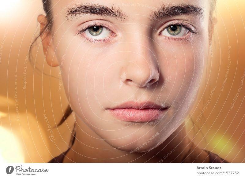 Mona Lisa Mensch Jugendliche schön Junge Frau Gesicht Traurigkeit Gefühle Lifestyle feminin Stil Denken Stimmung 13-18 Jahre elegant ästhetisch Haut
