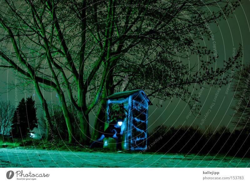 lighthouse family Mensch Mann Natur Baum Winter Haus Gebäude beobachten Illumination forschen Versteck
