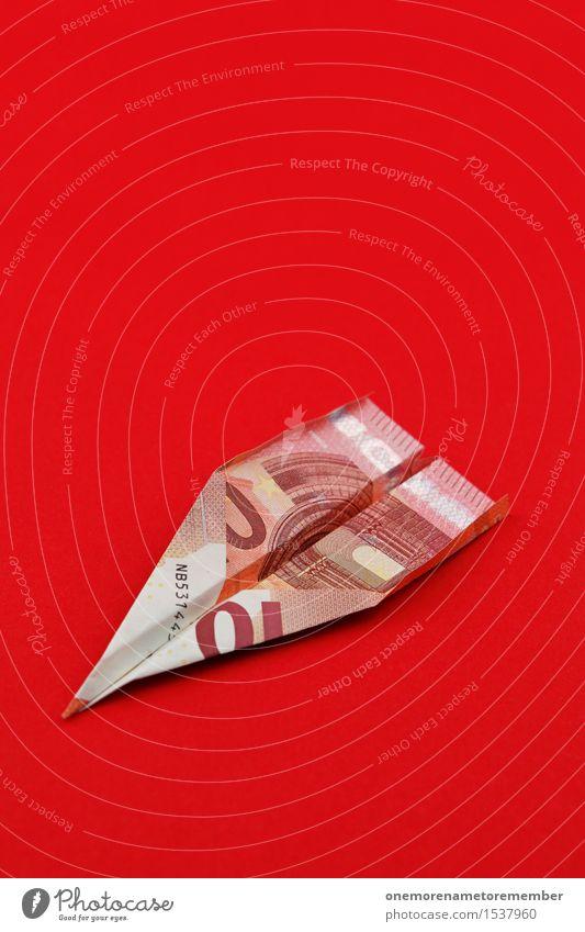 10 Euro Flieger Kunst Kunstwerk ästhetisch Kapitalwirtschaft Kapitalismus Geld Kapitalanlage Finanzkrise Europa Eurozeichen Euroschein Geldgeschenk Flugzeug