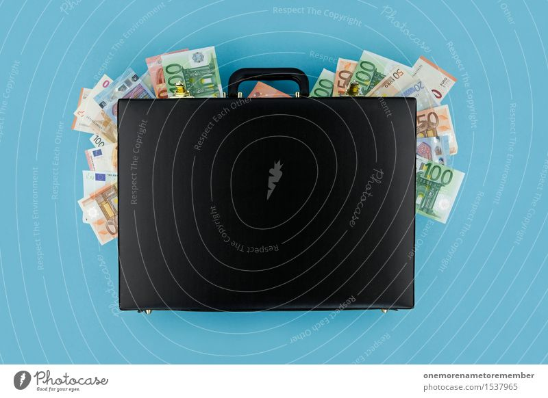 Och, danke Mutti! Kunst Kunstwerk ästhetisch Koffer online Onlineshop Business Geld Geldinstitut Geldmünzen Schwarzgeld ungesetzlich Kriminalität Geldgeschenk