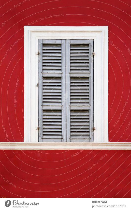 Blick II Kunst Kunstwerk ästhetisch Fenster Autofenster Abteilfenster Flugzeugfenster Fensterscheibe Fensterladen Fensterbrett Fensterblick Fensterkreuz