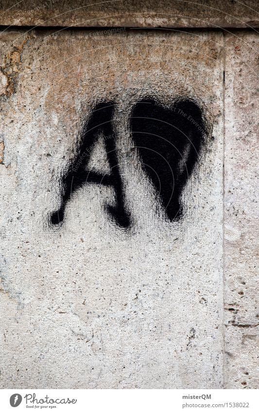 A-Lover. Kunst Kunstwerk ästhetisch Buchstaben Graffiti Fassade Liebe Liebeserklärung Liebesbekundung Liebesgruß Liebesleben Liebesbeziehung Herz herzlich