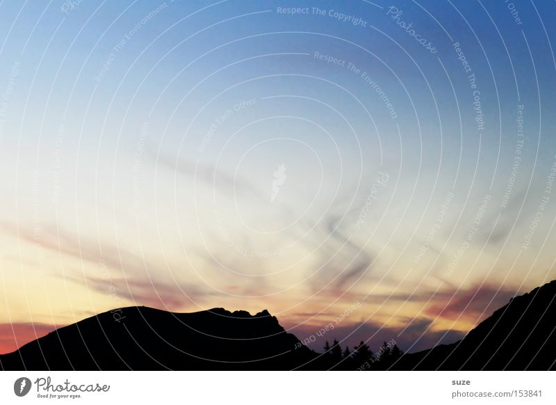 Zauberlehrling Himmel Natur blau Sommer Meer Einsamkeit ruhig Landschaft Umwelt Berge u. Gebirge Freiheit Küste Urelemente Schönes Wetter Zauberei u. Magie
