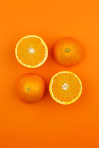 Orange so und so Gesunde Ernährung Kunst Design orange ästhetisch lecker Bioprodukte 4 Kunstwerk Symmetrie gestalten Orangensaft Orangerie Orangenhaut