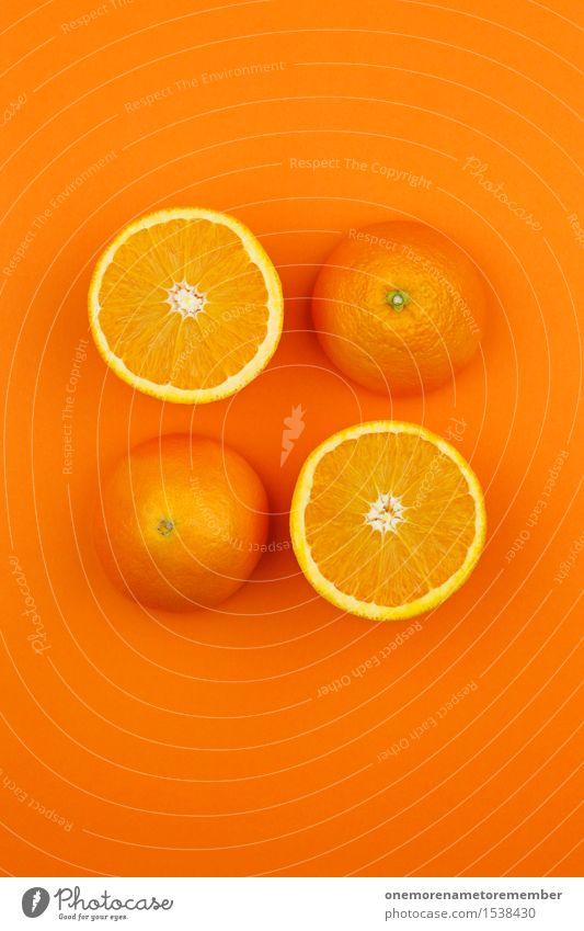 Orange so und so Kunst Kunstwerk ästhetisch Orangensaft Orangerie Orangenhaut Orangenhain Orangenscheibe Orangenschale 4 Design Symmetrie gestalten lecker