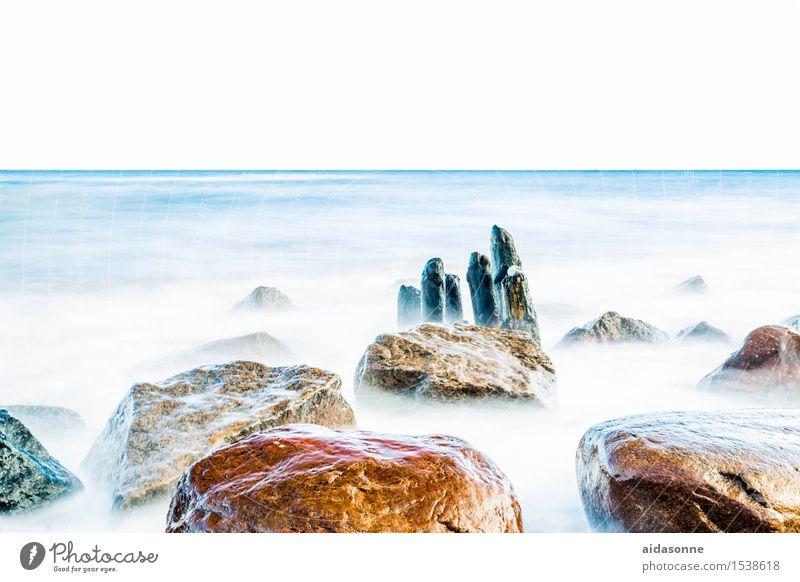 Ostsee Natur Wasser Landschaft ruhig Winter Leben Schönes Wetter Ostsee Gelassenheit Fernweh Vorsicht achtsam
