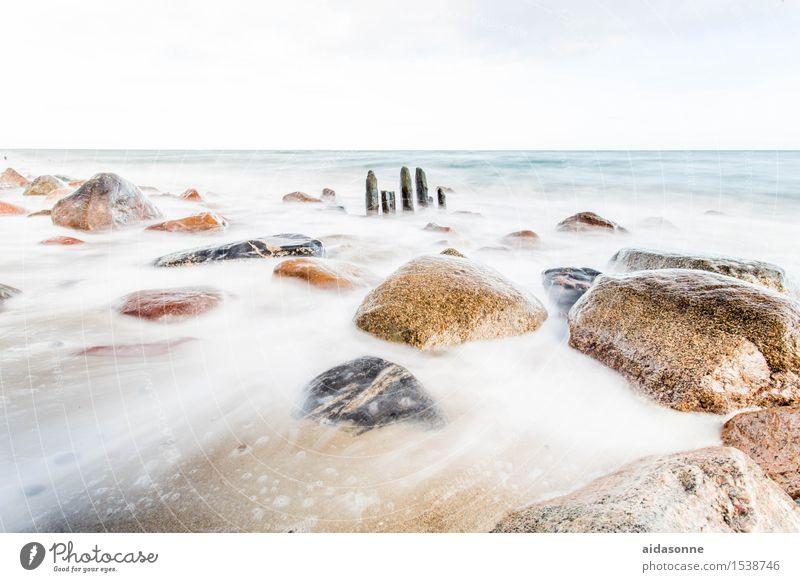 Ostsee Wasser Landschaft ruhig Leben Zufriedenheit Schönes Wetter Ostsee Gelassenheit Fernweh achtsam