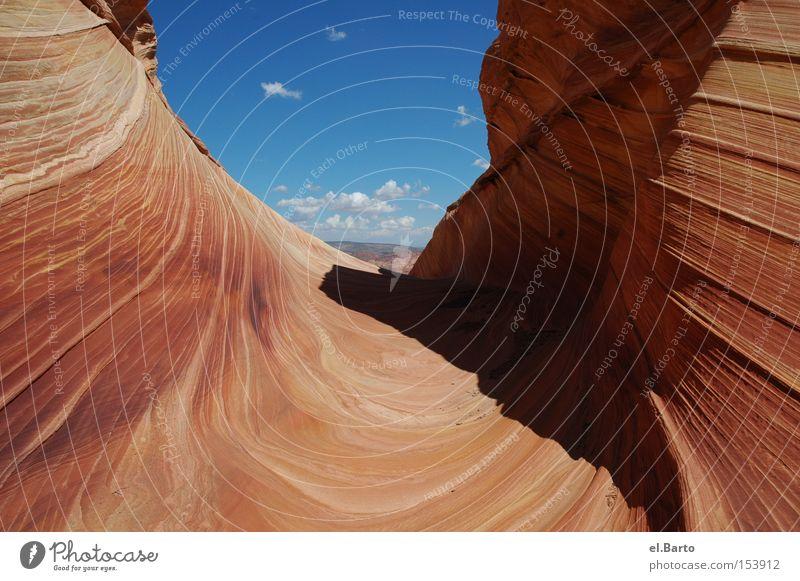 The Wave Natur Berge u. Gebirge Stein Landschaft Wellen Kunst USA Sehenswürdigkeit interessant Utah Coyote Buttes