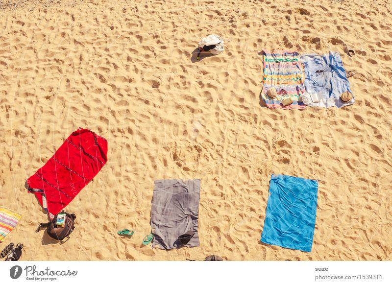 Pack die Badehose ein ... kaufen harmonisch Wohlgefühl Erholung Freizeit & Hobby Ferien & Urlaub & Reisen Sommer Sommerurlaub Sonnenbad Strand Meer Sand