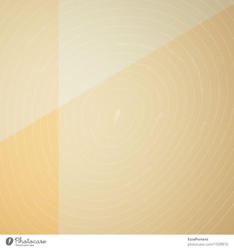 dezent Freizeit & Hobby Spielen Basteln Kunst Linie ästhetisch hell gelb gold Design Farbe Werbung Geometrie Grafik u. Illustration Grafische Darstellung