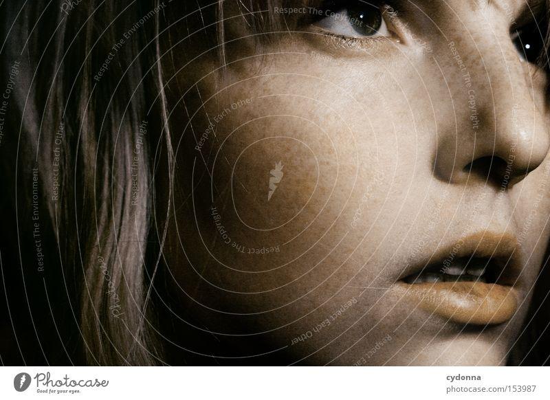 Etappenziel ... Mensch Frau Mädchen Gesicht Auge Blick Charakter Zukunft Hoffnung Gefühle Leben Optimist schön face self