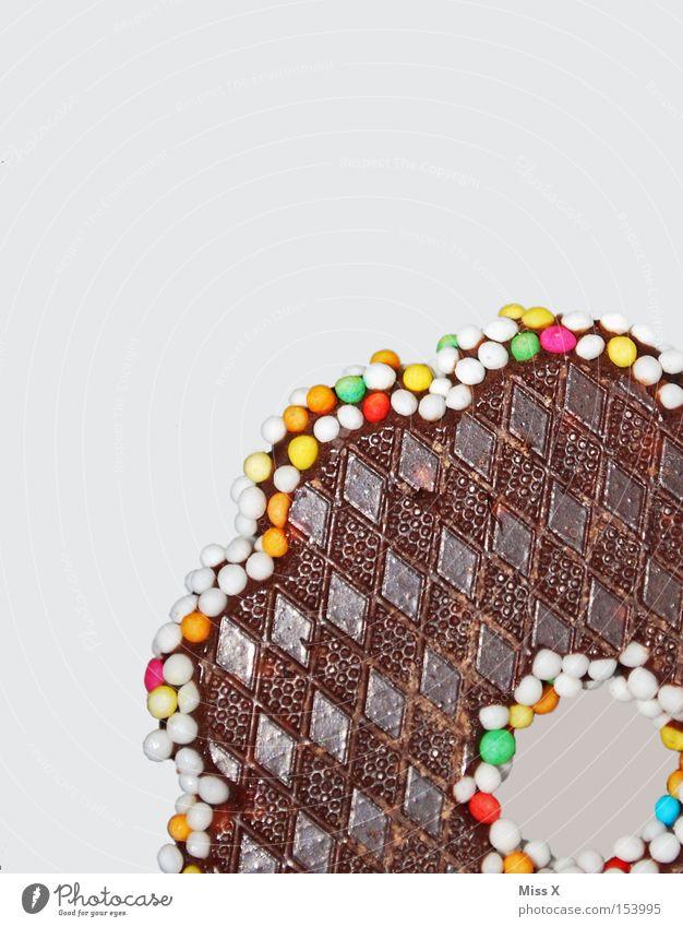 Kindheitserinnerung Weihnachten & Advent braun Lebensmittel glänzend Ernährung süß Süßwaren lecker Schokolade kariert Perle Zucker Makroaufnahme Zuckerperlen