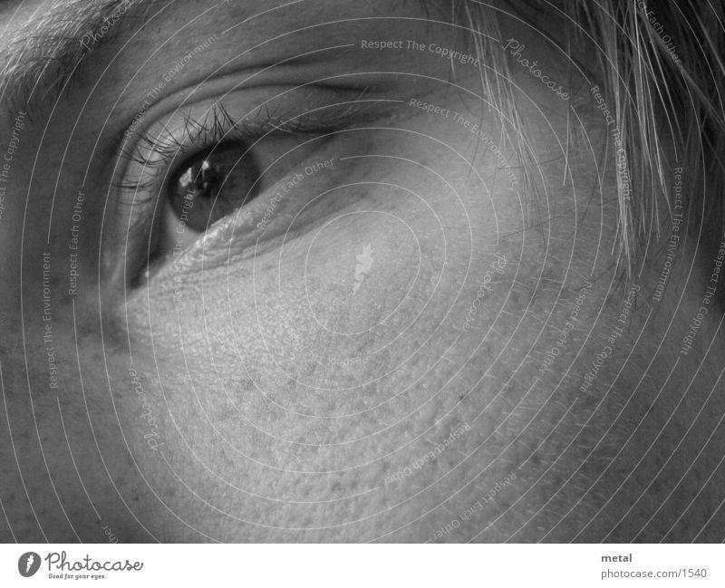Auge, verträumt Mann Auge
