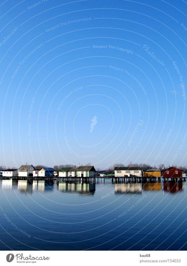 Angelparadies Wasser blau Ferien & Urlaub & Reisen Haus Leben See Wohnung Häusliches Leben Hütte Angeln heimwärts Fischereiwirtschaft Nationalitäten u. Ethnien