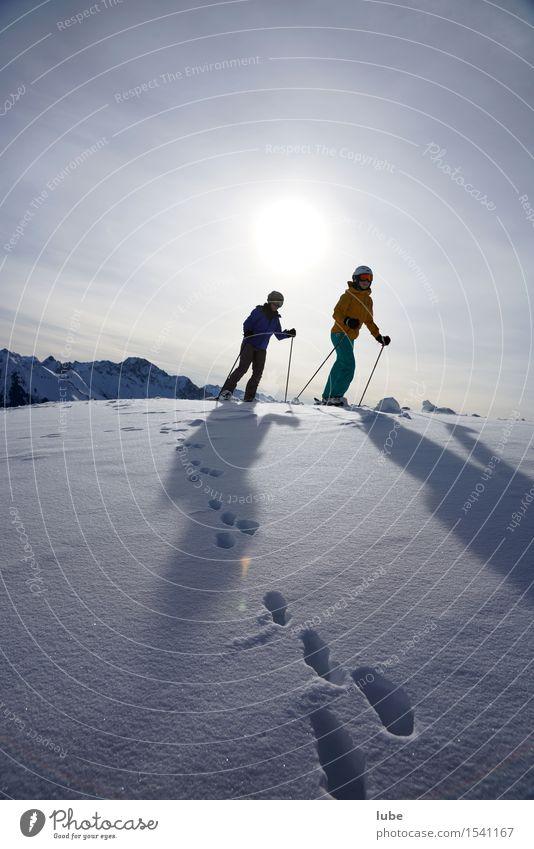 Drei Hasen Ferien & Urlaub & Reisen Tourismus Ausflug Abenteuer Ferne Freiheit Winter Schnee Winterurlaub Berge u. Gebirge wandern Wintersport Skifahren Umwelt