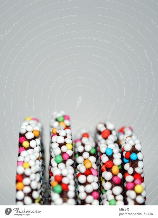 Kindheitserinnerung II Weihnachten & Advent Ernährung braun glänzend Lebensmittel süß Feste & Feiern lecker Süßwaren Perle Schokolade mehrfarbig Zucker