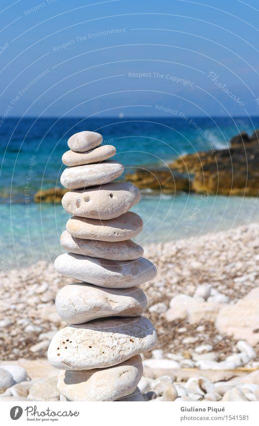 Zen im Urlaub schön Gesundheit Wohlgefühl Erholung Schwimmen & Baden Ferien & Urlaub & Reisen Tourismus Ferne Sommer Sommerurlaub Sonne Sonnenbad Strand Meer