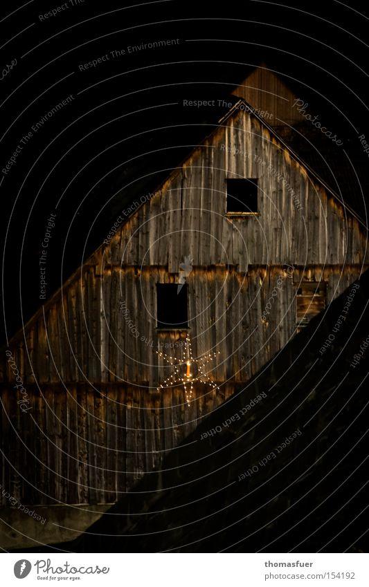 stille Nacht Weihnachten & Advent ruhig Zufriedenheit Frieden Dorf Schüchternheit Weihnachtsdekoration bescheiden passend Landleben Altes Rathaus