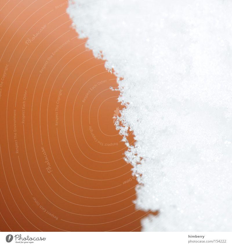 schneegrenze Winter kalt Schnee Eis Hintergrundbild Wetter Design Klima Jahreszeiten Eiszeit Schneefallgrenze