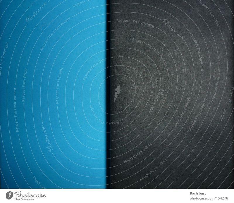 blues and blacks. Design schön Dienstleistungsgewerbe Medienbranche Kunst Printmedien Neue Medien Himmel Haus Bauwerk Mauer Wand blau grau schwarz