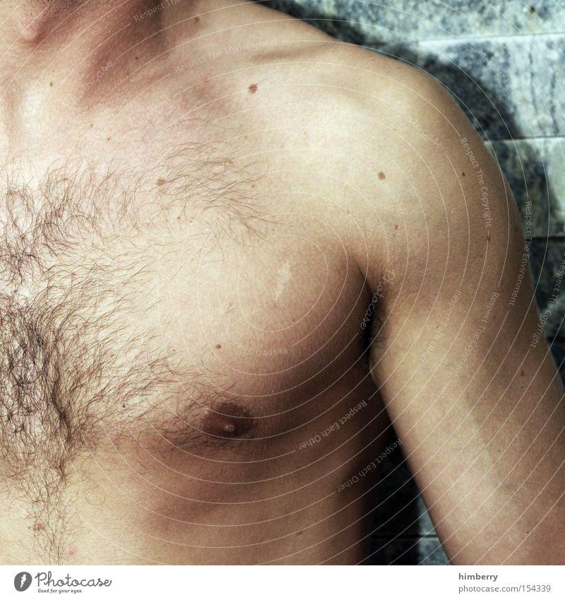 body language Mann Jugendliche Körper Kraft maskulin Körperhaltung Fitness Brust Muskulatur Kampfsport Oberkörper